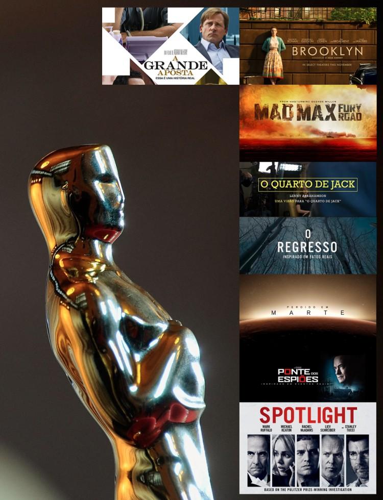 Oscar 2016 indicados nas principais categorias com número de indicações - Cleon Gostinski - Fonte Revista Monet