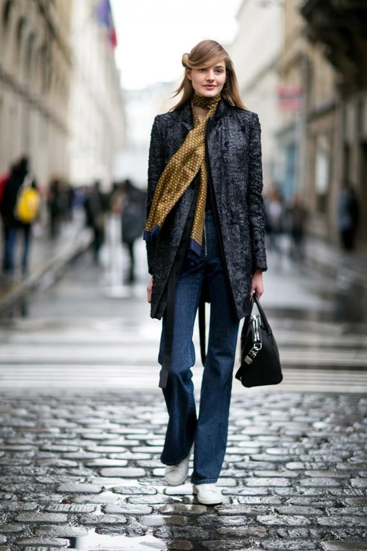 Adotando um look Seventies Revival em Paris - Cleon Gostinski - Fonte Fashionising
